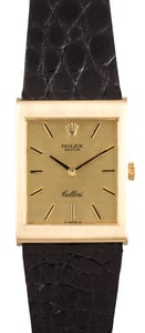 Rolex Cellini 18K Yellow Gold 4014
