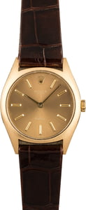 130467 Rolex Cellini 3800 Yellow Gold Case