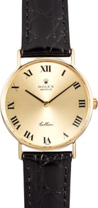 Rolex Cellini 3833 Yellow Gold