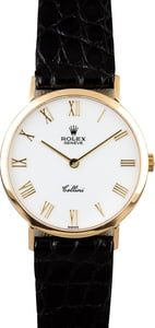 Rolex Cellini 4112 Yellow Gold