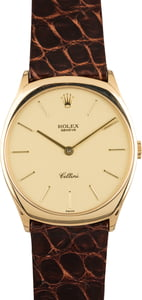 Pre Owned Rolex Cellini 4133 18K Yellow Gold Watch