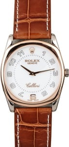 Rolex Cellini 4233 White and Rose Gold