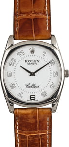 PreOwned Rolex Cellini 4233 White Dial