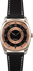 Pre-Owned Rolex Cellini 4243 White and Rose Gold