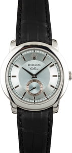 Rolex Cellini 5241 Glacier Blue Index Dial