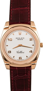Pre-Owned Rolex Cellini 5330 Rose Gold