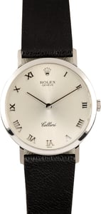 Rolex Cellini White Gold