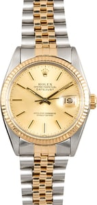 Rolex Champagne Dial Datejust 16013