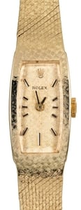 Women's Rolex Cocktail Watch 14K Gold