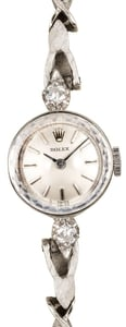 Women's Vintage Rolex Diamond Cocktail Watch