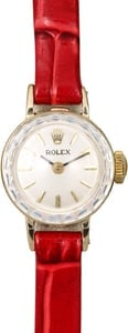 Rolex Ladies Yellow Gold Cocktail Watch 92805
