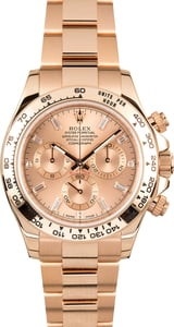 Rolex Cosmograph Daytona 116505 Everose Diamond