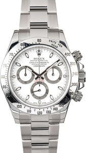 Rolex Cosmograph Daytona 116520 Superlative Chronometer
