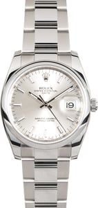 Rolex Date 115200 Stainless Steel