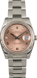 Pre-Owned Men's Rolex Date 115234