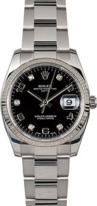 Rolex Date 115234 Diamonds