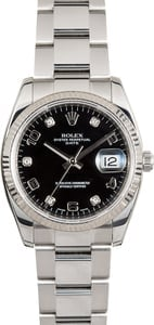 Rolex Date 115234 Diamonds 34MM