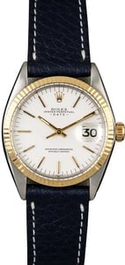 Rolex Date 1500 White Index Dial