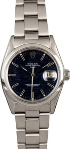 Rolex Oyster Perpetual Date 1500 Blue Dial