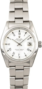 PreOwned Rolex Date 1500 White Dial