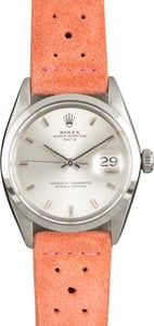 Used Rolex Date 1500 Silver Dial