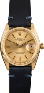 Vintage Rolex Date Yellow Gold 1500
