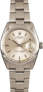 Pre-Owned Rolex Date 1500 Silver Index Dial