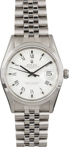 Pre Owned Rolex Date 15000 White Dial