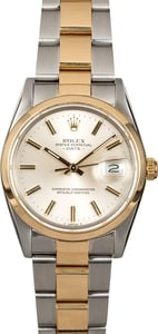 Men's Rolex Date 15003 Two-Tone Oyster