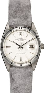 Genuine Rolex Date 1501 White Index Dial