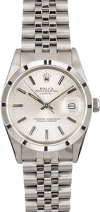 Pre-Owned Rolex Date 15010 Silver Dial