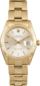 Rolex Date 1503 Yellow Gold Oyster Rivet