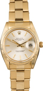 Used Rolex Date 1503 Silver Index Dial