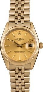 Pre-Owned Rolex Date 1503 Champagne Dial Watch