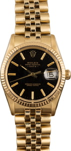 Pre Owned Rolex Date 15037 Black Dial