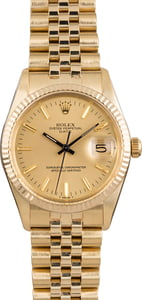Pre Owned Rolex Date 15037 Jubilee Band