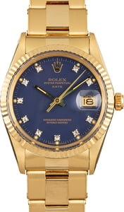 Used Rolex Date 15037