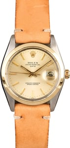 Vintage Rolex Date 1505 Champagne Dial