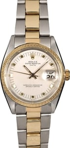 Men's Rolex Date 1505 Two-Tone Oyster