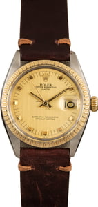 Pre-Owned Rolex Date 1505 Champagne Dial