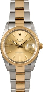 Rolex Date 15053 Two Tone Oyster