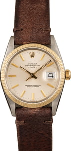 Pre Owned Rolex Date 15053 Leather Band