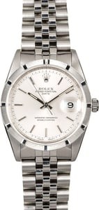 Men's Rolex Date 15210 Steel Jubilee