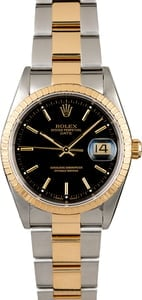 Used Rolex Date 15223 Black Dial