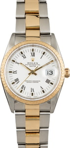 Used Rolex Date 15223 Two Tone Oyster