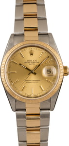 Pre-Owned Rolex Date 15223 Champagne Dial