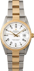 Rolex Date 15223 Two-Tone Oyster