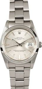 Rolex Date Stainless Steel 15000