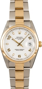 Rolex Date Stainless Steel 15203