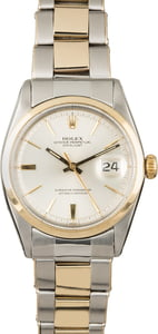 Rolex Datejust 1600 Silver 'Pie Pan' Dial